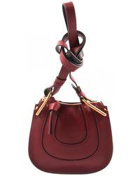 Chloé - Pre-owned Hayley Leather Handbag - Lyst