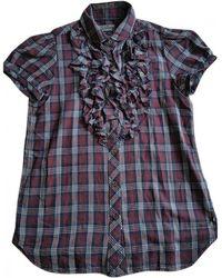 Polo Ralph Lauren - Multicolour Cotton Top - Lyst