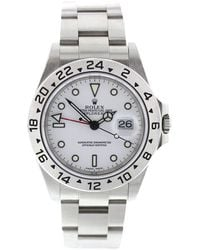 Rolex - Pre-owned Explorer Ii 42mm Silver Steel Watches - Lyst