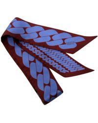 Hermès - Twilly Purple Silk - Lyst