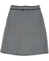 Céline | Wool Mid-length Skirt | Lyst