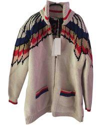 Stella McCartney - Beige Wool Knitwear - Lyst