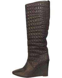 Hermès - Leather Riding Boots - Lyst