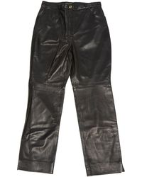 Ralph Lauren Collection - Wool Straight Pants - Lyst