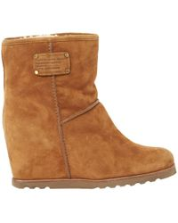 Marc By Marc Jacobs - Camel Suede Ankle Boots - Lyst