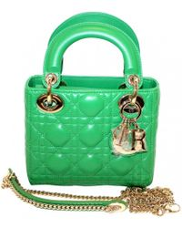562c04f96b80 Dior - Lady Leather Mini Bag - Lyst
