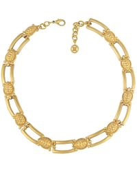 Givenchy - Pre-owned Vintage Gold Metal Necklace - Lyst