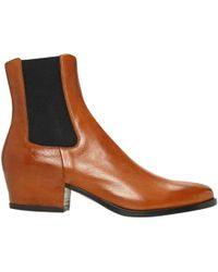 Givenchy - Brown Leather Boot - Lyst