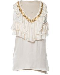 Givenchy - Pre-owned Silk Top - Lyst