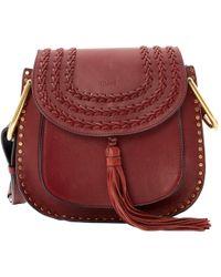 Chloé - Pre-owned Hudson Leather Handbag - Lyst