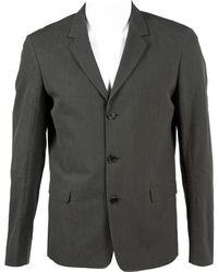 Marni - Grey Cotton Jacket - Lyst