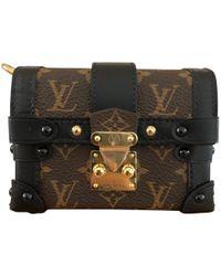 Louis Vuitton - Petit Malle Cloth Clutch Bag - Lyst