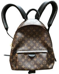 Louis Vuitton - Pre-owned Palm Springs Cloth Backpack - Lyst