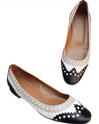 Hermès - Leather Ballet Flats - Lyst