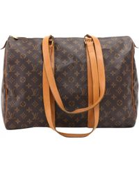 Louis Vuitton - Sac à main Flânerie en toile - Lyst
