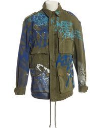 Faith Connexion - Khaki Cotton Jacket - Lyst