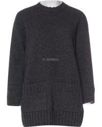 Céline - Grey Synthetic Knitwear - Lyst