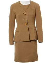 Dior - Pre-owned Wool Suit Jacket - Lyst