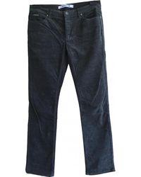 Zadig & Voltaire - Khaki Cotton Trousers - Lyst