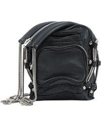 Alexander Wang - Brenda Black Leather Handbag - Lyst