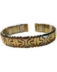BVLGARI - Parentesi Yellow Gold Bracelet - Lyst