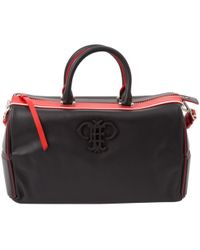 Emilio Pucci Pre-owned - Leather bowling bag jKSIMQe