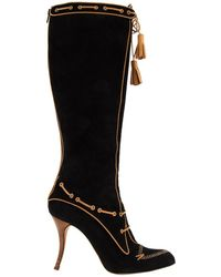 Manolo Blahnik - Riding Boots - Lyst