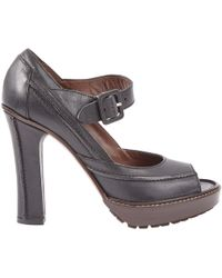 Marni - Leather Heels - Lyst