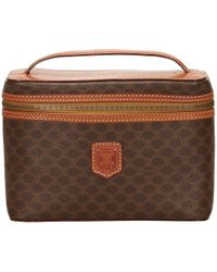 Céline - Pre-owned Cloth Vanity Case - Lyst