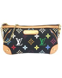 Louis Vuitton - Pre-owned Milla Cloth Clutch Bag - Lyst