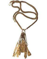 Céline - Pre-owned Necklace - Lyst