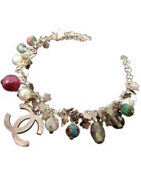 Chanel - Pre-owned Multicolour Silver Plated Bracelet - Lyst