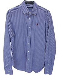 Polo Ralph Lauren - Navy Cotton Top - Lyst