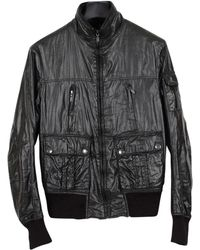 1fa12fbe54a Belstaff Stonefield Light Bomber Jacket in Black for Men - Lyst