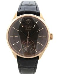 Rolex - Montre Cellini en or rose - Lyst