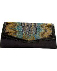 Etro - Leather Clutch Bag - Lyst