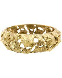 Lanvin - Pre-owned Vintage Gold Metal Bracelets - Lyst