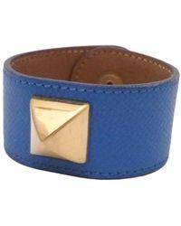 Hermès - Médor Other Leather Bracelets - Lyst