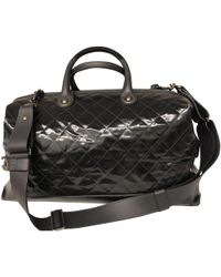 Chanel - Patent Leather Travel Bag - Lyst