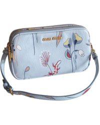 Miu Miu | Leather Handbag | Lyst