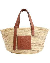 Loewe - Basket Bag Leder Kleine Tasche - Lyst