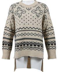 Thakoon - Beige Wool Knitwear - Lyst