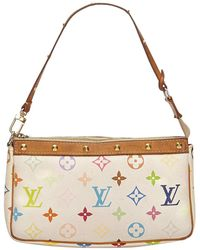 Louis Vuitton - Pre-owned Pochette Accessoire Cloth Clutch Bag - Lyst
