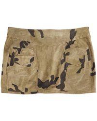 Balmain - Pre-owned Mini Skirt - Lyst