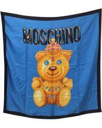 Moschino - Multicolour Silk Scarves - Lyst