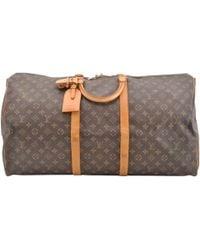 Louis Vuitton - Keepall Cloth Travel Bag - Lyst