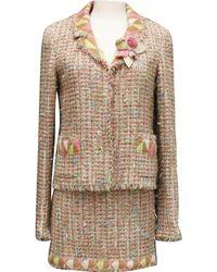Chanel - Tailleur en tweed - Lyst