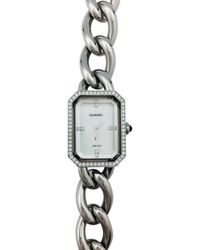 Chanel - Première Silver Steel Watches - Lyst