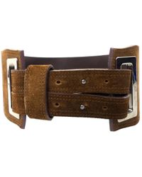 Max Mara - Pre-owned Patent Leather Belt - Lyst