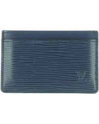 Louis Vuitton - Leather Card Wallet - Lyst